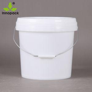 10L ronde d'impression personnalisé seau en plastique pour l'huile de peinture etc.