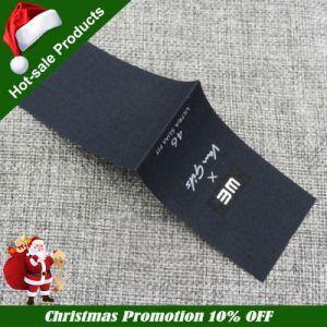 China Accesorios de ropa de mejor calidad textil de poliéster algodón etiqueta tejida
