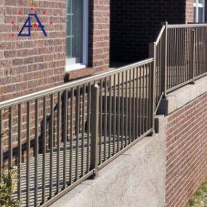 Haut de gamme personnalisé en aluminium poudré clôture de sécurité