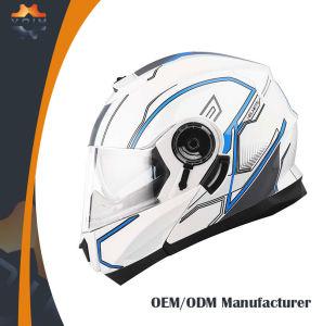 Estilo Motocross Casco Doble Visera Motocicleta Personalizada Cascos Integrales
