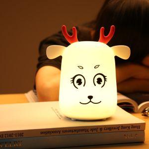 Luz de LED mesa portátil luz nocturna viveiro de crianças para a Segurança do bebé