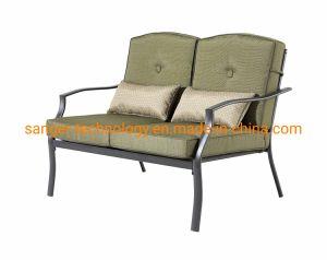 Quintal Classics Cypress 4 Peças Conjunto estar pátio com sofá cadeiras, sofá e mesa de café em vidro
