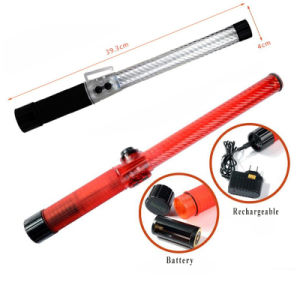 Clignotement de la LED rechargeable Baton Lumière de Nuit avec du son
