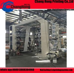 Máquina de impressão Flexographic da película plástica de 8 cores (CH884)