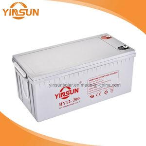 12V200AH VRLA selladas de plomo ácido de batería UPS sin mantenimiento.