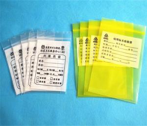 Bolsas de plástico transparente de LDPE Gripseal personalizado con logotipo impreso