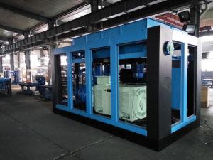 Compressore d'aria rotativo della vite del rotore massimo minimo di pressione due