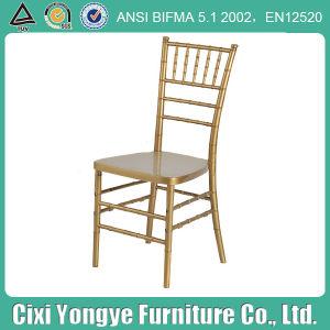 PC Material에 있는 금 Resin Tiffany Chiavari Chair