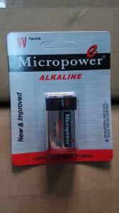 Supertrockene Batterie der energien-9V/6lr61 Alklaine