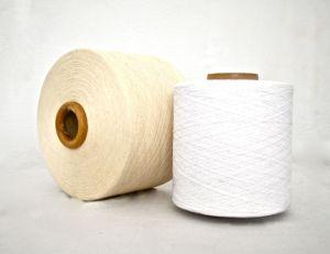 30s 최고 질 표백제 길쌈을%s 백색 재생된 면 털실