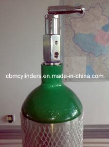 En1975 cilindro de oxígeno de aluminio de 4,6 L (ME-size)