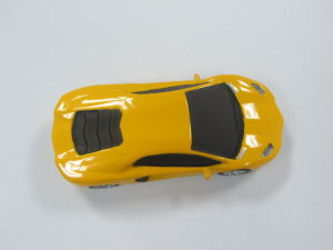 Модный желтый автомобиль флэш-накопитель USB (HN51)