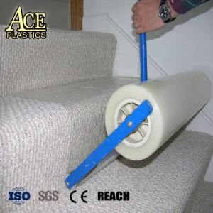 PE Plastique clair Film de protection de tapis de plancher en bois - Protection
