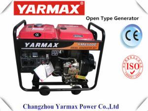 Yarmax 6 ква 6.5kVA открытого типа дизельных генераторах генератора