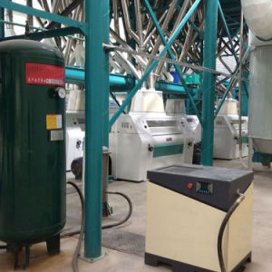 Entièrement automatique de la farine de maïs usine de broyage pour l'Afrique