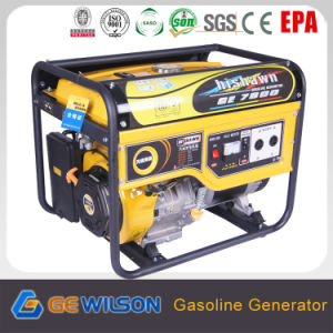 6.5kw Rated Power EPAのセリウムGS Certification Gasoline Generator