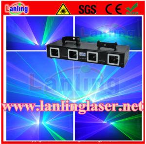 260 Мвт Гбайт новой четыре линзы лазера Multi-Tunnel зеленого цвета