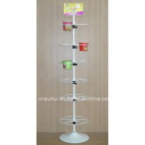 Metalldraht-Fußboden-stehender Imbiss-Ausstellungsstand (PHY1031F)