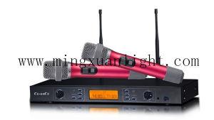 DC2二重手持ち型のスピーカーの無線電信のマイクロフォン