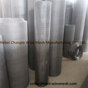 Stainless Steel Square Crimped Woven Wire Mesh clouded