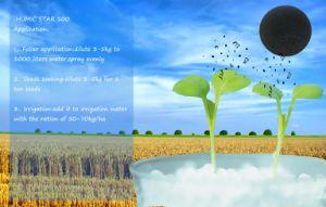 Het Kalium Humate van de Meststof van Humate van het Type van humusachtig Zuur