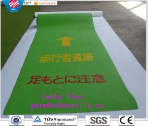 Strato di gomma della pavimentazione di gomma della stuoia di Passager di sicurezza del camminatore di Janpanese di alta qualità per il Giappone
