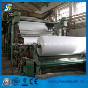 Máquina de papel para a produção de papel higiênico e guardanapos