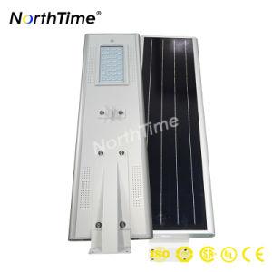 Energía Solar todo en uno de la iluminación exterior con sensor de movimiento PIR