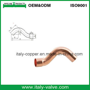 Cobre certificada ISO9001 adaptador de S-Bend (AV8013)
