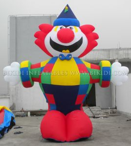 De openlucht Reuze Opblaasbare Ballon van de Koude Lucht van de Clown (K2043)