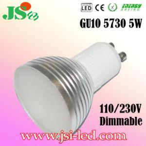 5W Dimmable LED GU10 5730 Punkt-Glühlampen (Y)