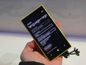 De in het groot Telefoon van de Cel van Vensters, Originele Lumia 720 Smartphone, GSM Mobiele Telefoon