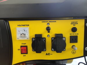 5000 Watt Portable Power Gasoline Generator mit EPA, Carb, CER, Soncap Certificate (YFGP6500)