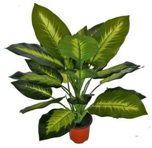 Высокое качество Искусственные растения Dieffenbachia с 20 Lvs