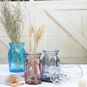 Стеклянный цветок вазу для дома украшения