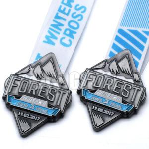 Promoción muestra gratuita de Metal de la medalla de forma Gobbler personalizado