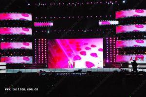 舞台の背景のための屋内フルカラーのLED表示スクリーン