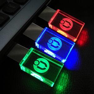 Привод вспышки ручки памяти USB 2.0 кристалла металла высокой ранга