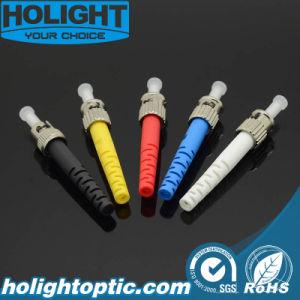 Lossfiber de inserción baja óptica St/UPC Conector para proyecto FTTH