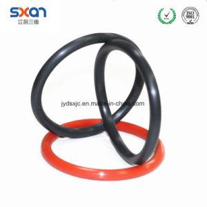 De Zwarte/Rode O-ring NBR 70 van de douane