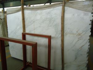 床または浴室のタイルのための東洋の白い大理石のタイル