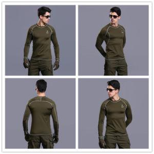 4 couleurs de la formation tactique Esdy à manches longues sous-vêtement thermique de plein air