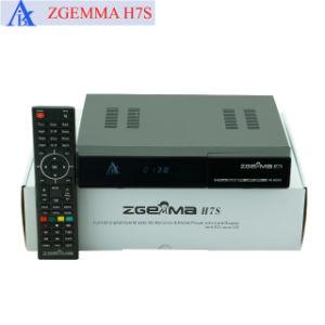 Zgemma H7S 4K Receptor de Satélite com 2*DVB-S2X + DVB-T2/C Sintonizadores Multistream