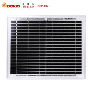 modulo solare monocristallino di 10W PV