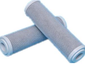 飲料水の処置のためのCTOによって作動するカーボン液体のろ過材