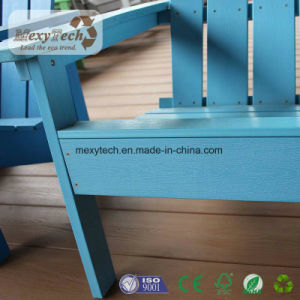フォーシャンの庭の家具のプラスチック木製のベンチおよび表