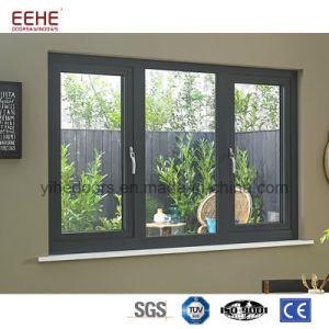 Het binnenlandse Openslaand raam van het Aluminium van het Bureau voor Verkoop