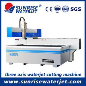 De kleine CNC Scherpe Machine van de Straal van het Water voor het Metaal en de Steen van het Glas