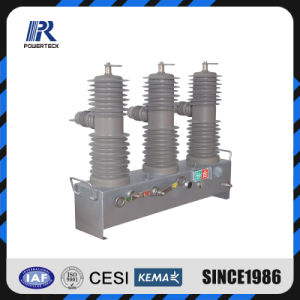 Disjoncteur haute tension avec relais de protection de ligne 33kv