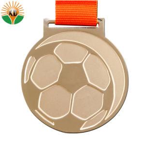 Fundição personalizado de venda quente desportos personalizados com fita medalhas em 3D